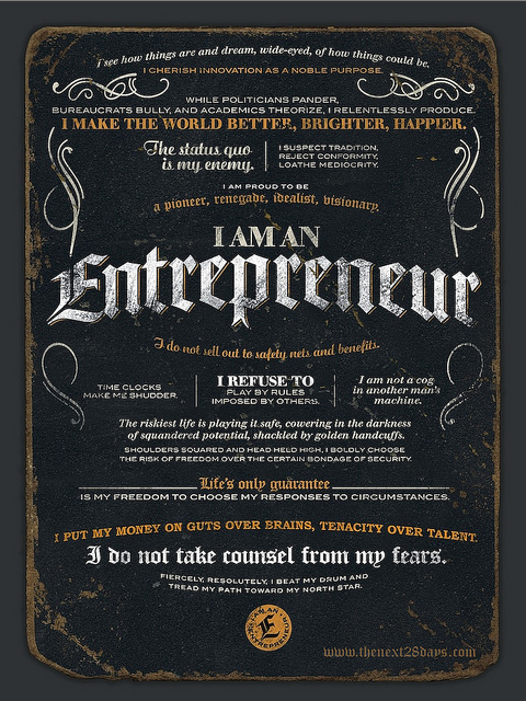 entrepreneurial writer