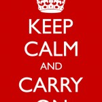 How Writers Can Keep Calm and Carry On