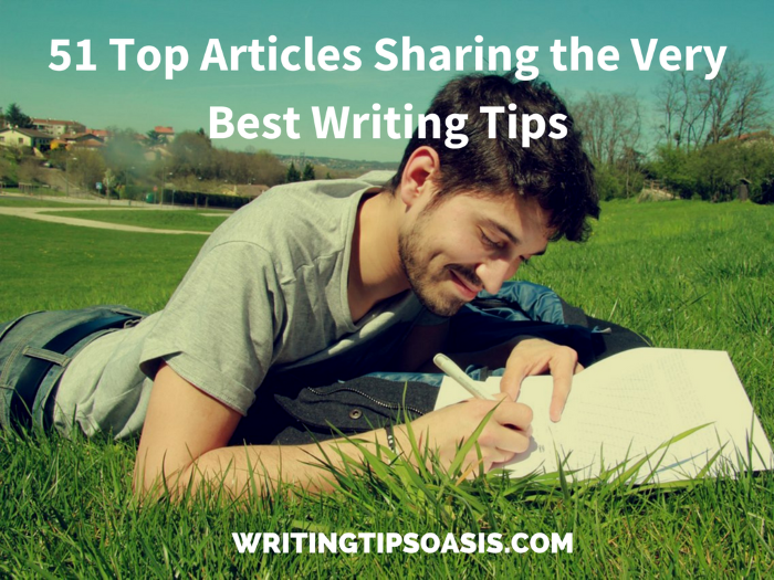 tips on writing articles