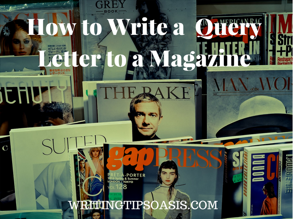 how to write a query letter to a magazine