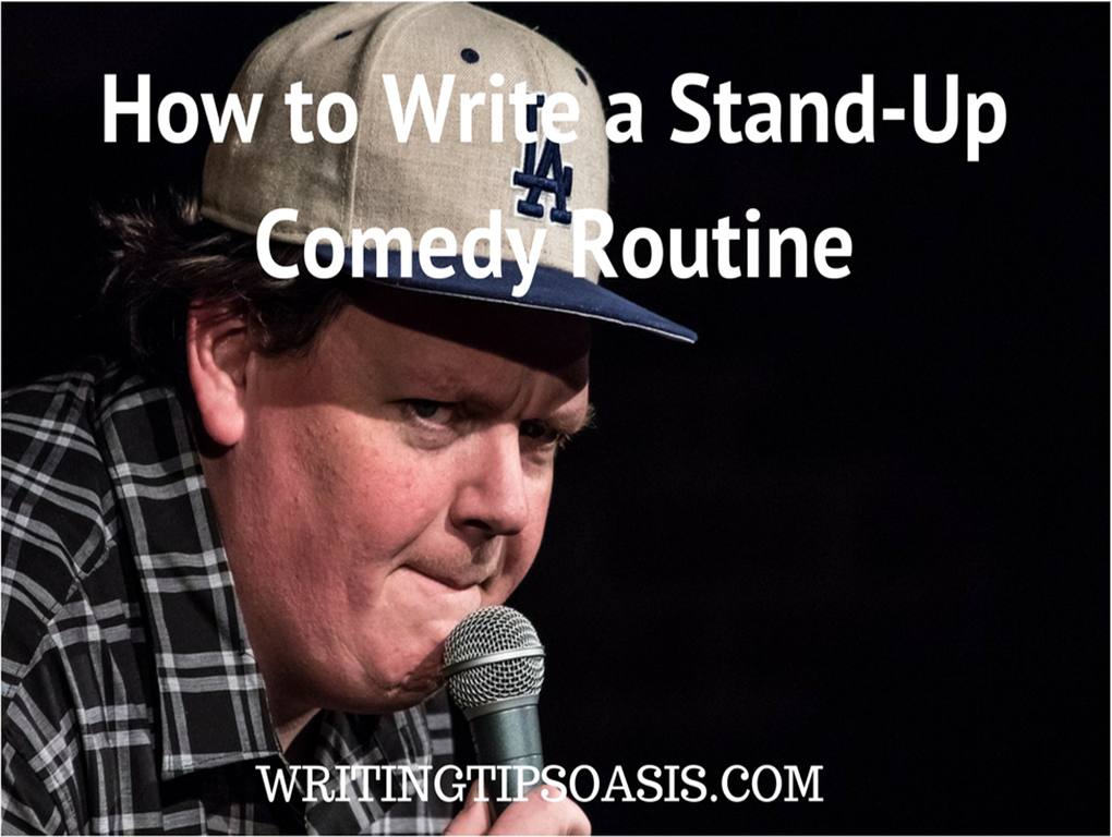 how to write a stand-up comedy routine