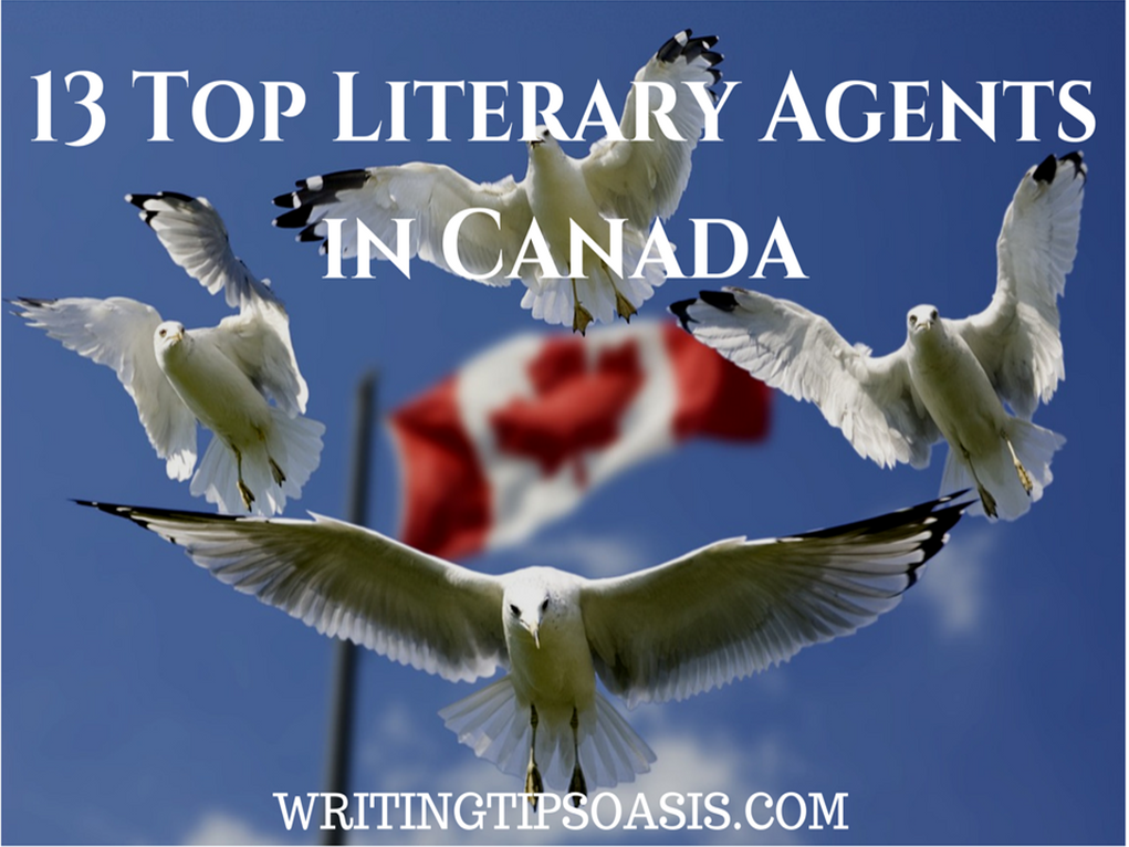 top literary agents in Canada