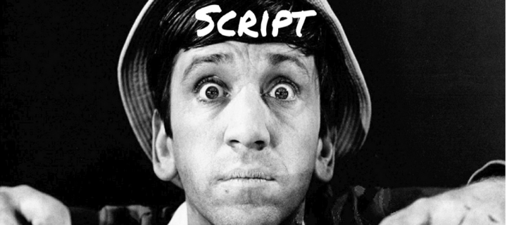 how to write a comedy play script