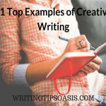 21 Top Examples of Creative Writing