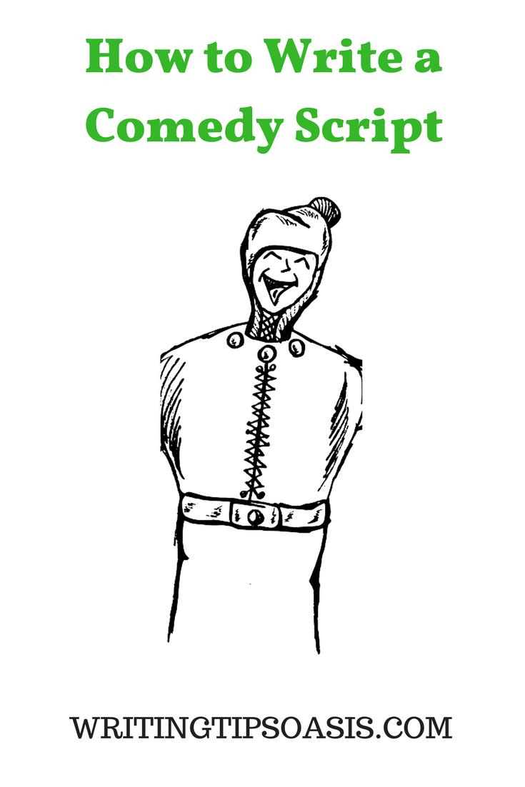 how to write a comedy script for tv