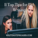 11 Top Tips for Bid Writing