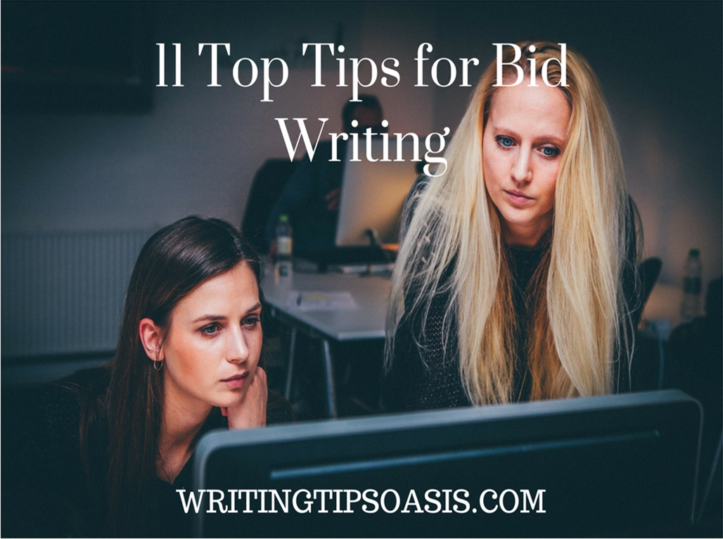 top tips for bid writing