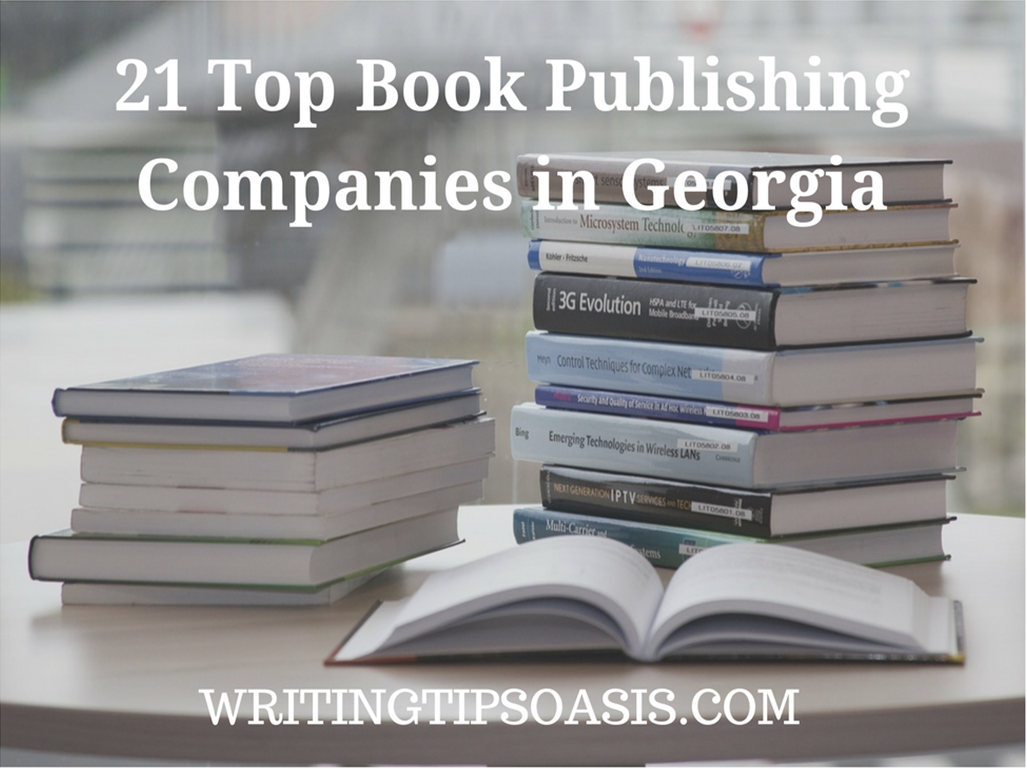 book publishing companies in georgia