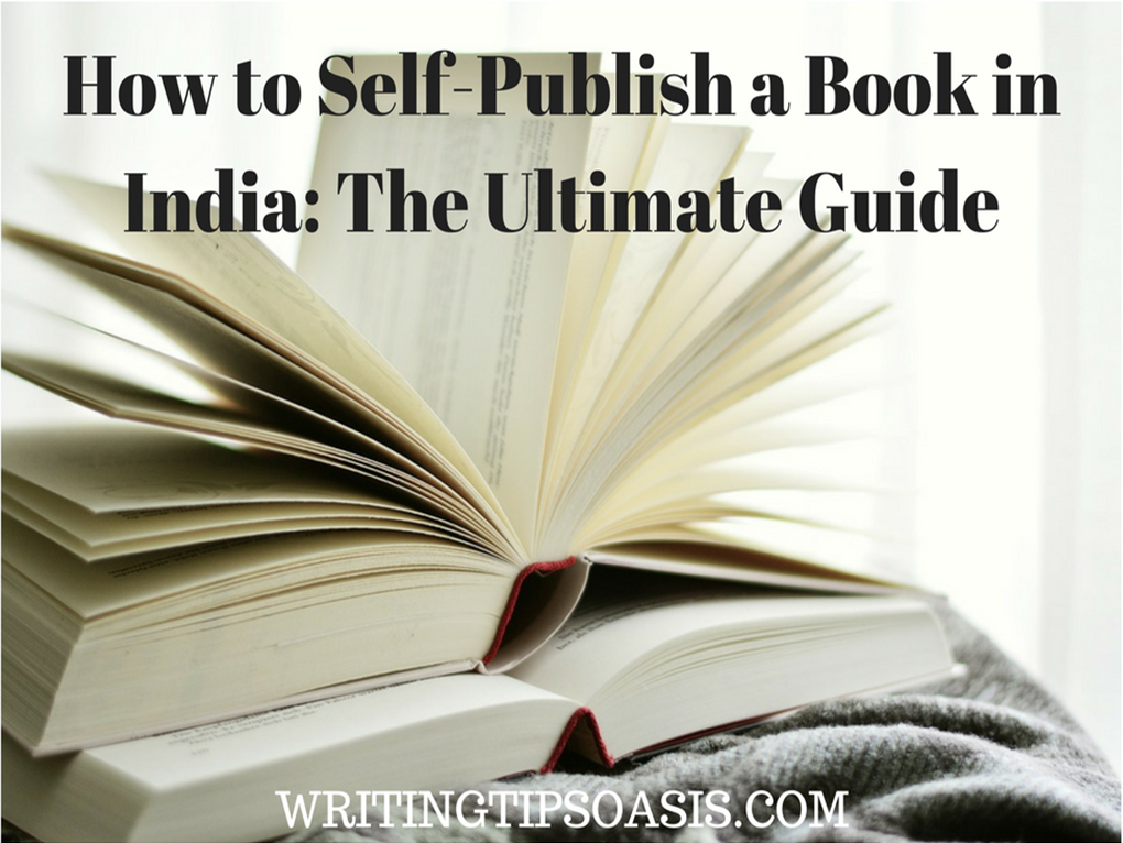 how to self-publish a book in india
