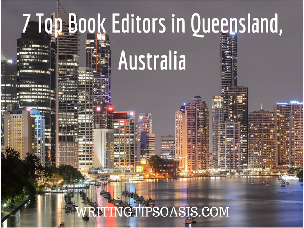 book editors in queensland, australia