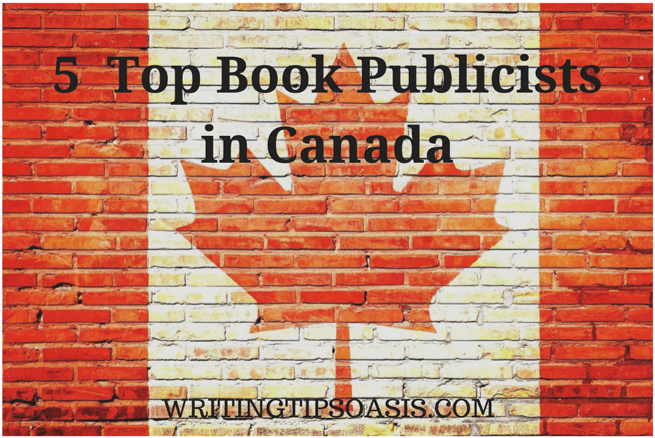 book publicists in canada