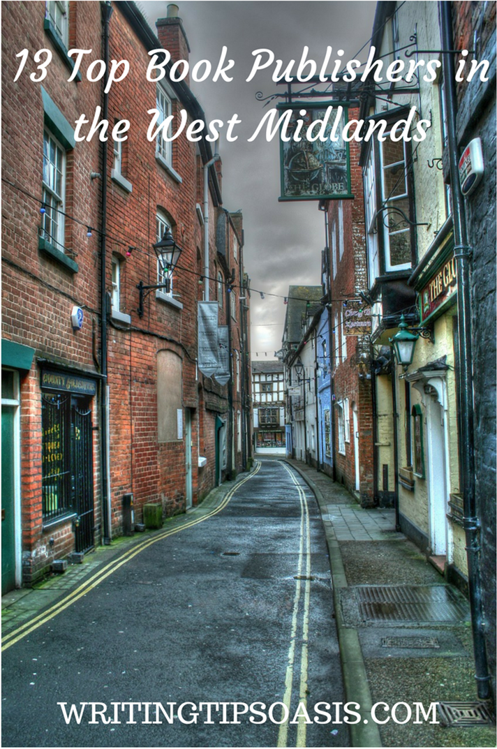 independent publishers in west midlands