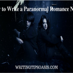 how to write a paranormal romance novel