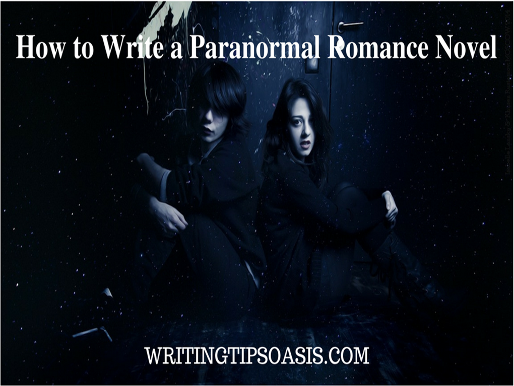 how to write a paranormal