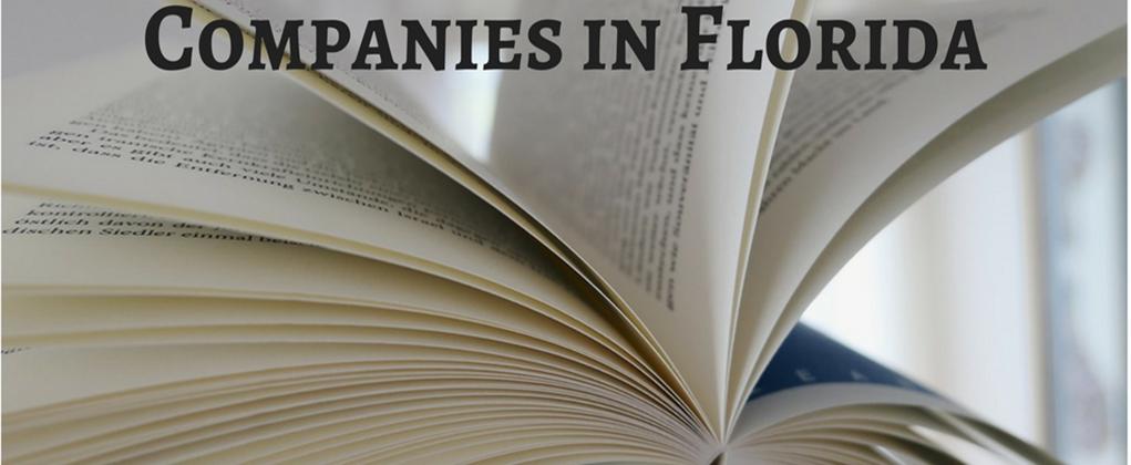 22 Top Book Publishing Companies in Florida