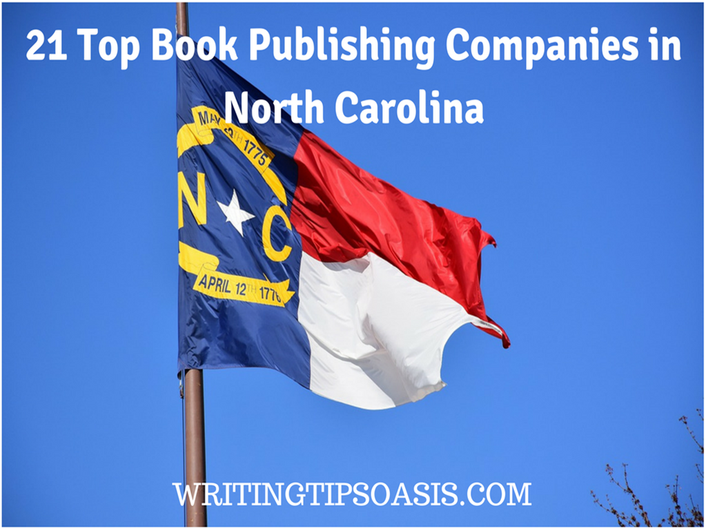 book publishing companies in north carolina