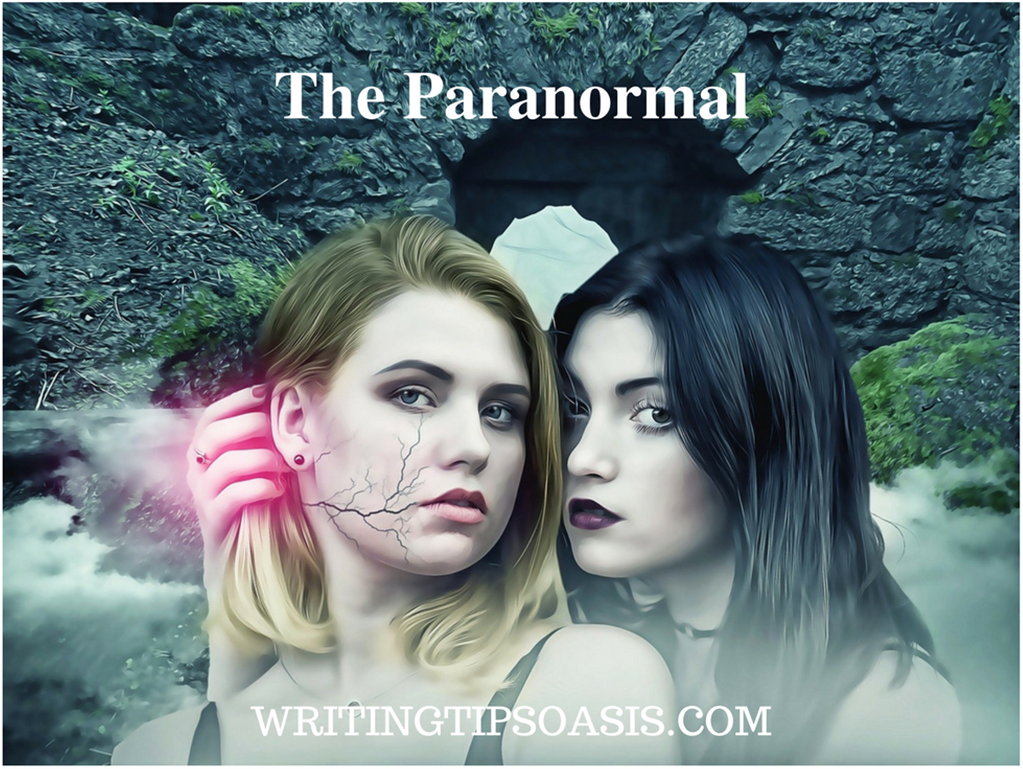 how to write a paranormal romance book