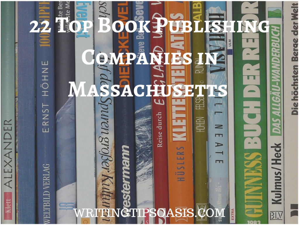 book publishing companies in massachusetts