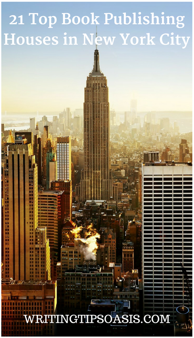 book publishing companies in new york city