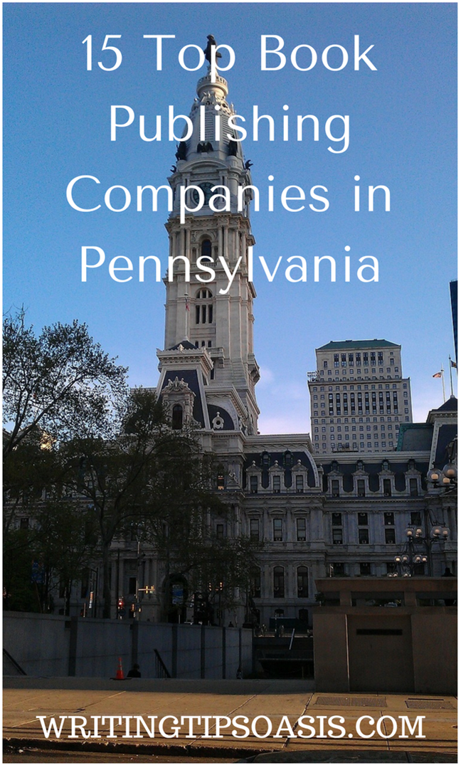 book publishers in pennsylvania