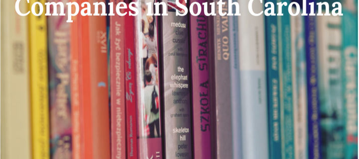 8 Top Book Publishing Companies in South Carolina