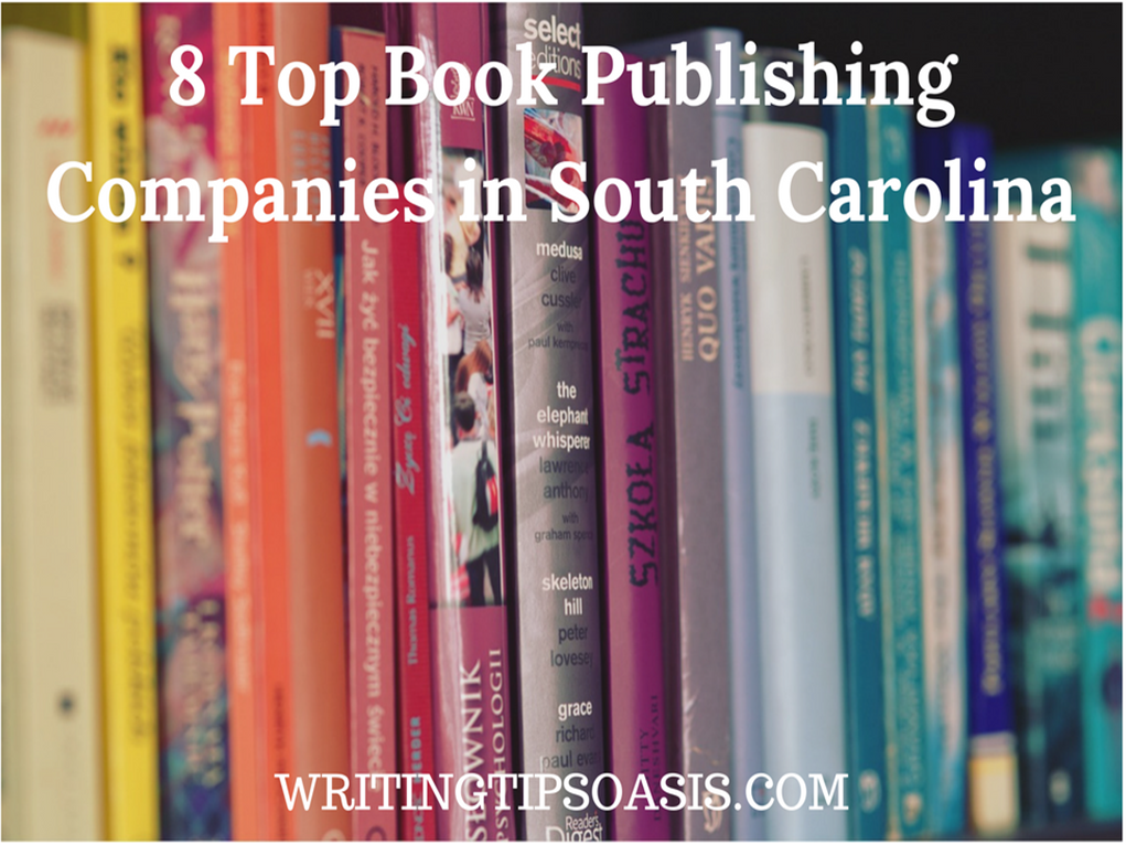 book publishing companies in south carolina