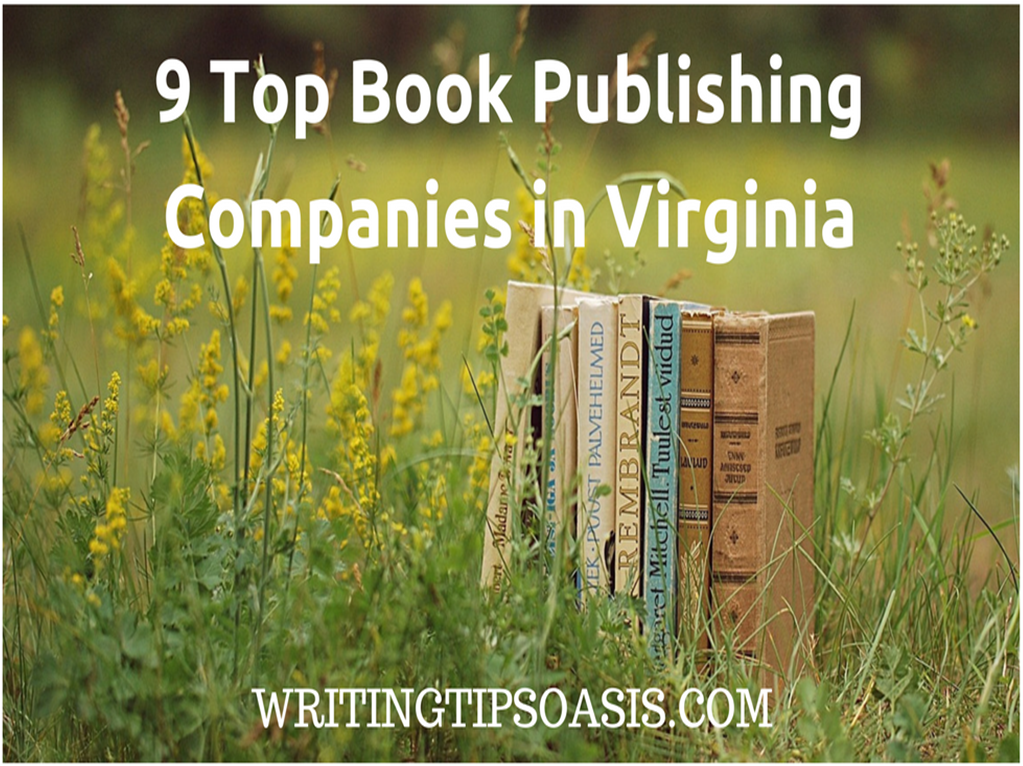 book publishing companies in virginia