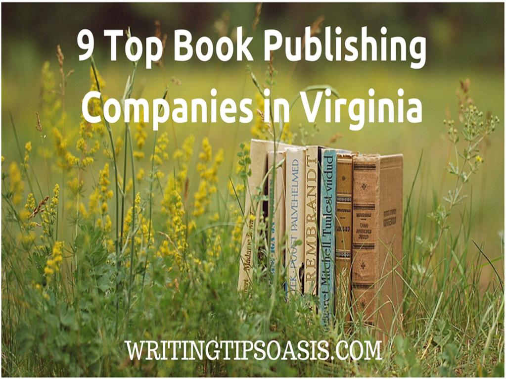 book publishing companies in virginia