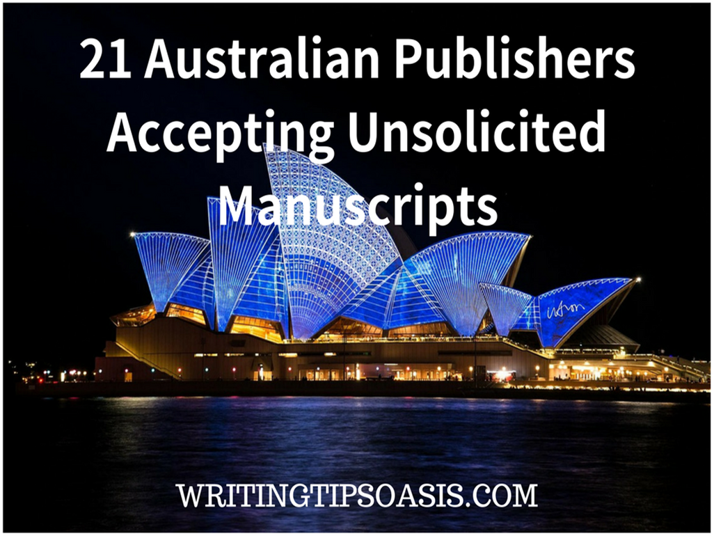 australian publishers accepting unsolicited manuscripts