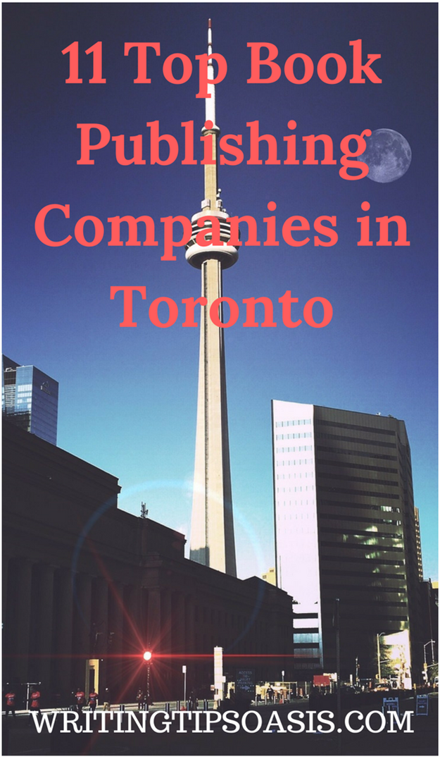 book publishers in toronto
