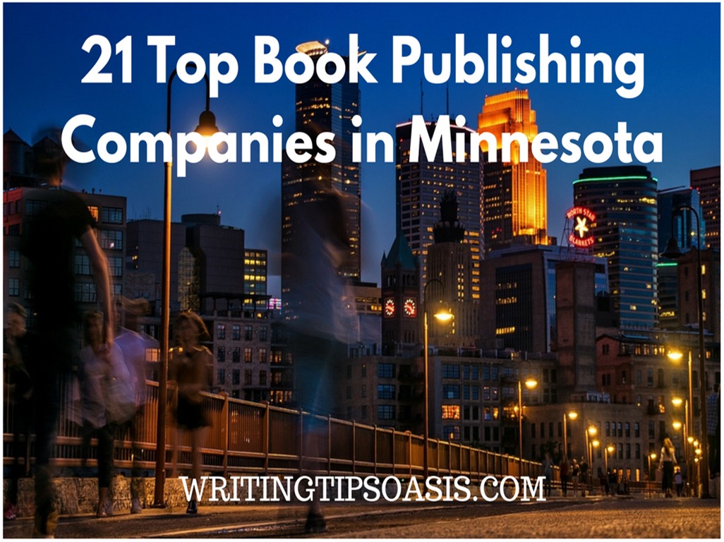 book publishing companies in minnesota