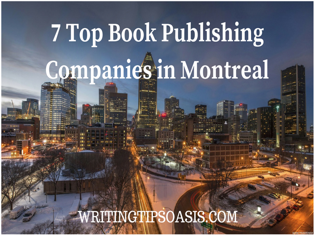 book publishing companies in montreal