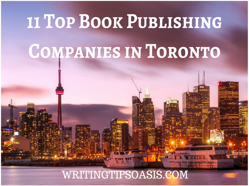 book publishing companies in toronto