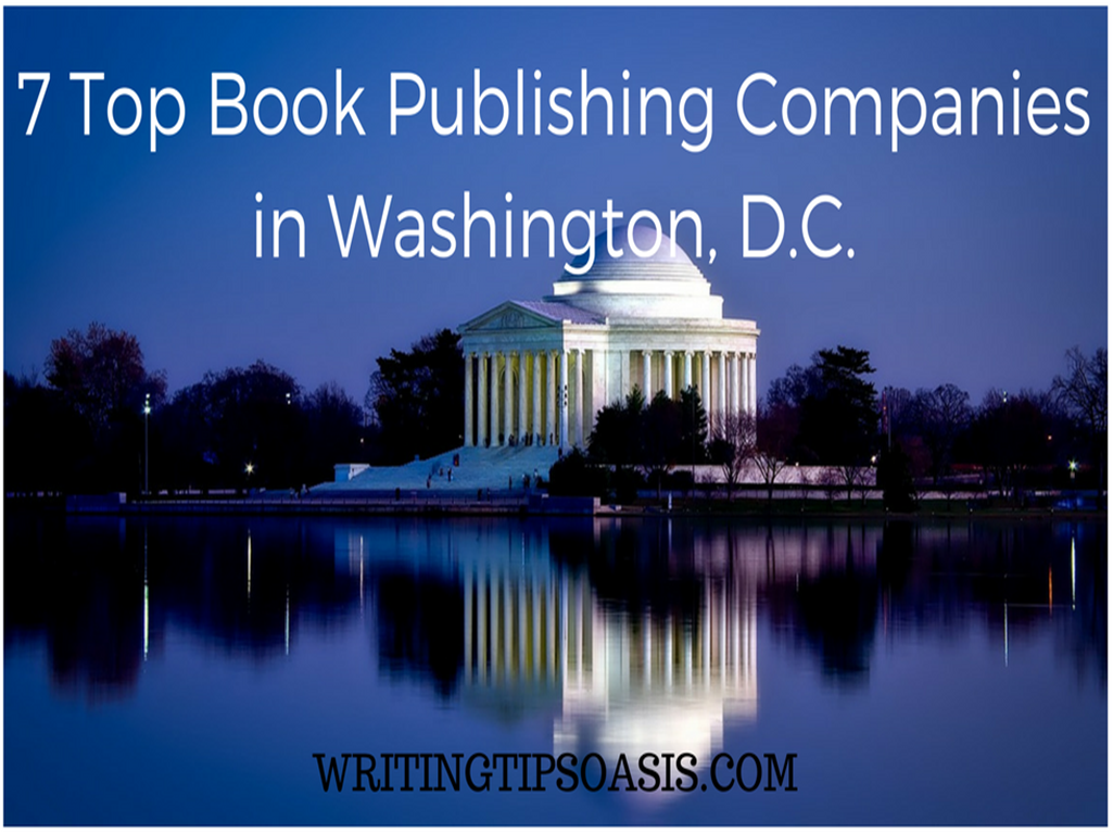 book publishing companies in washington, d.c.