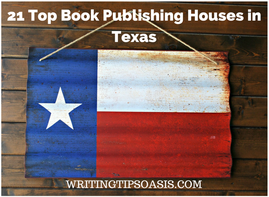 book publishing houses in texas