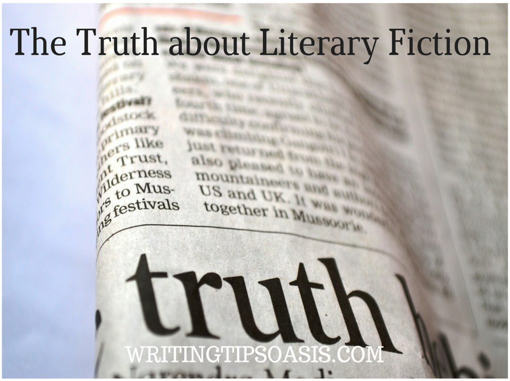 tips for writing literary fiction