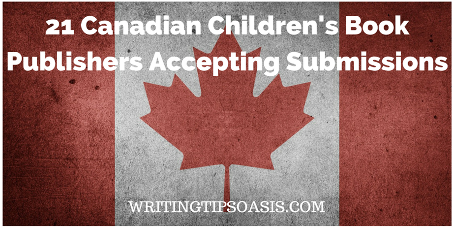 canadian children's book publishers accepting submissions