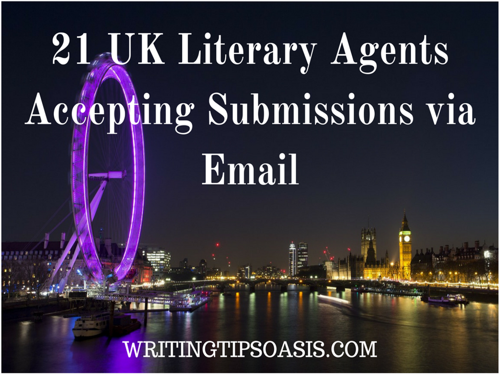 uk literary agents accepting submissions via email