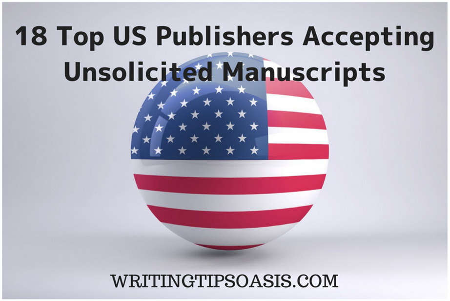 us publishers accepting unsolicited manuscripts