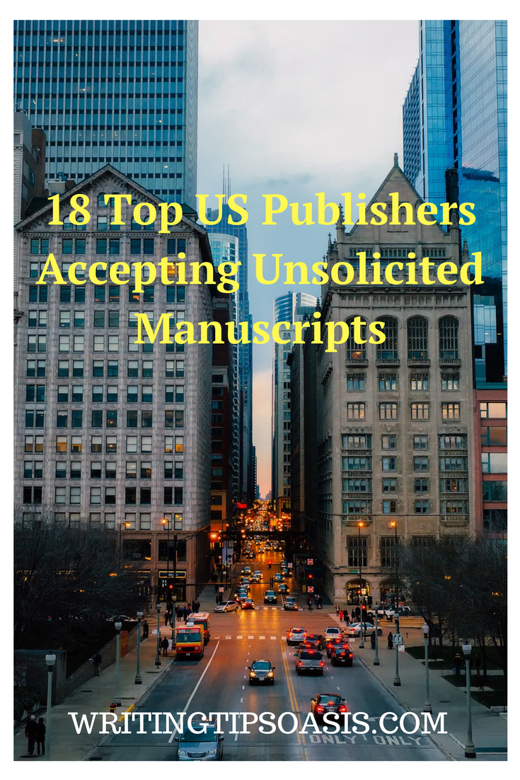 us publishing companies accepting unsolicited manuscripts