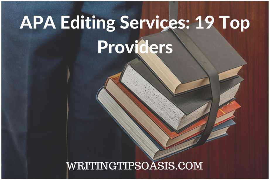 apa editing services