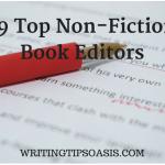 19 Top Non-Fiction Book Editors