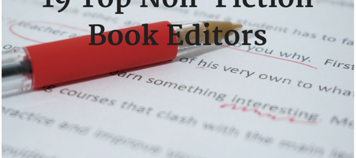 19 Top Non-Fiction Book Editors