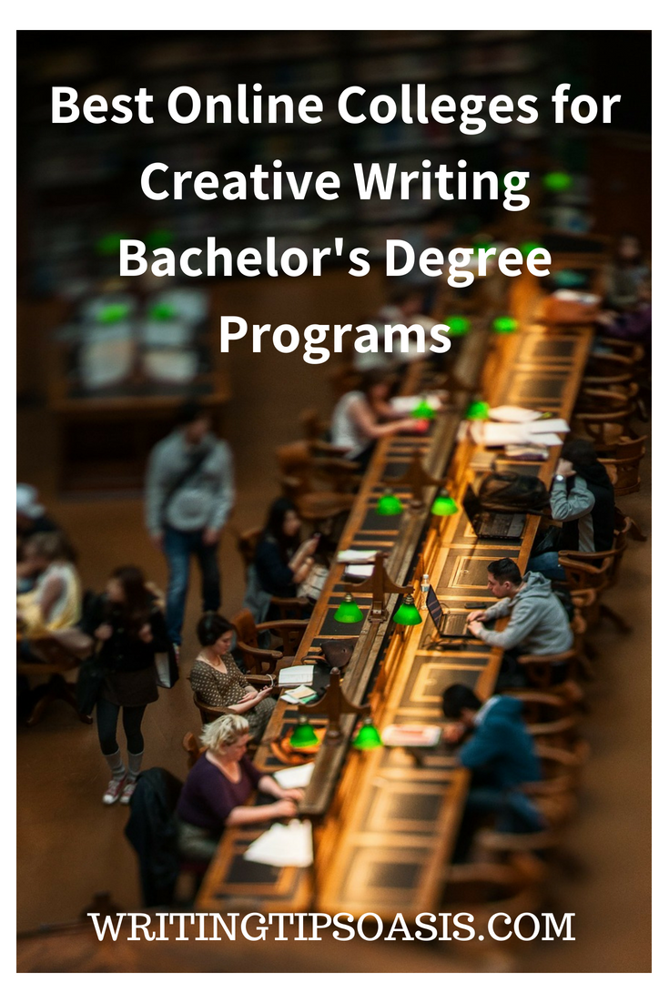best online colleges for creative writing