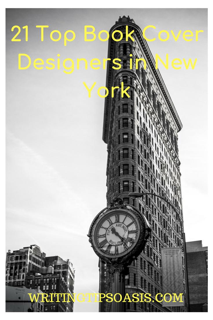 book cover designer in new york