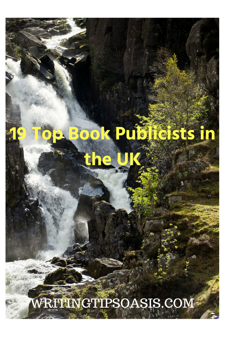 book publicist uk