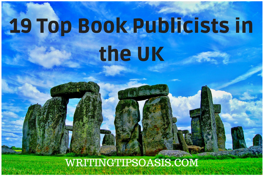 book publicists in the uk