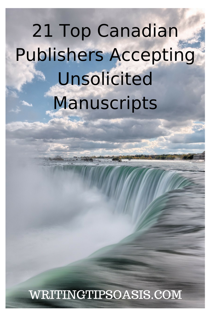 canadian book publishers accepting submissions