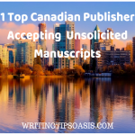 21 Top Canadian Publishers Accepting Unsolicited Manuscripts
