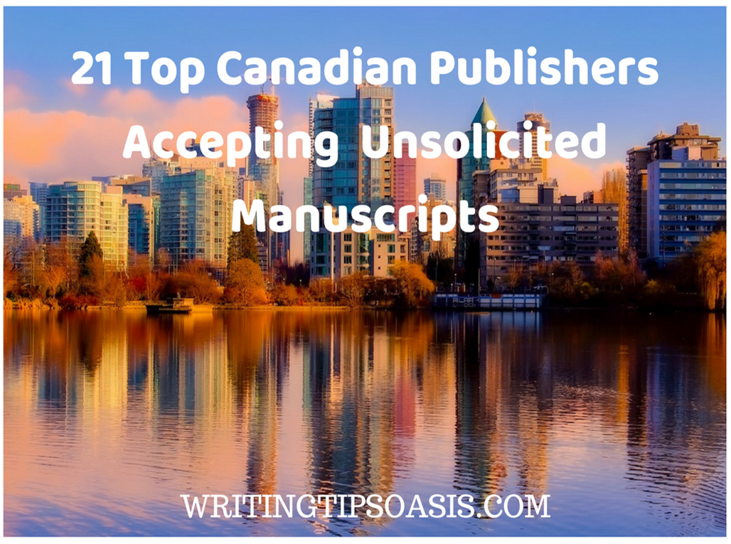 canadian publishers accepting unsolicited manuscripts